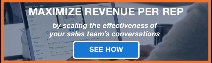 Sales enablement CTA