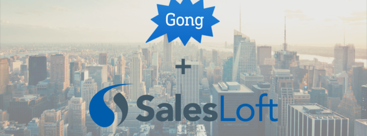 SalesLoft Gong Integration