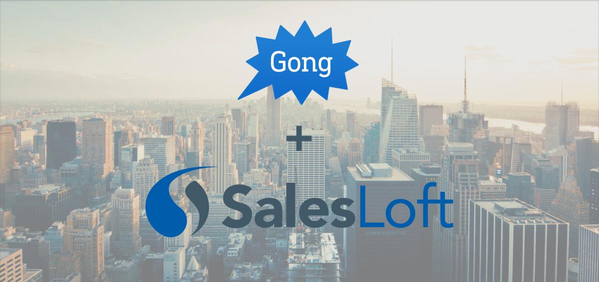 SalesLoft Gong Integration