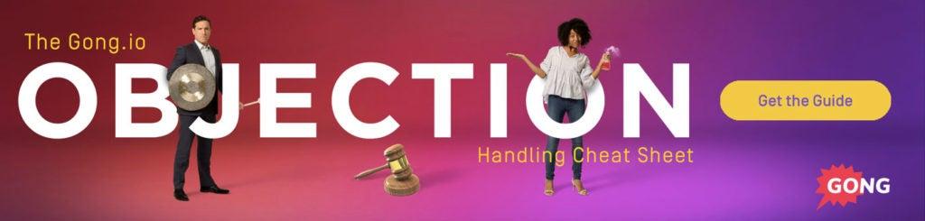 objection handling banner