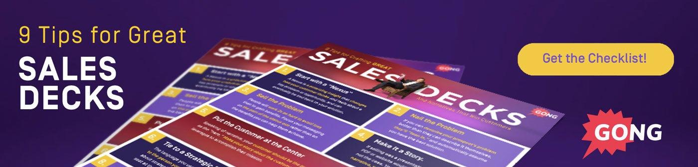 9 sales presentation tips
