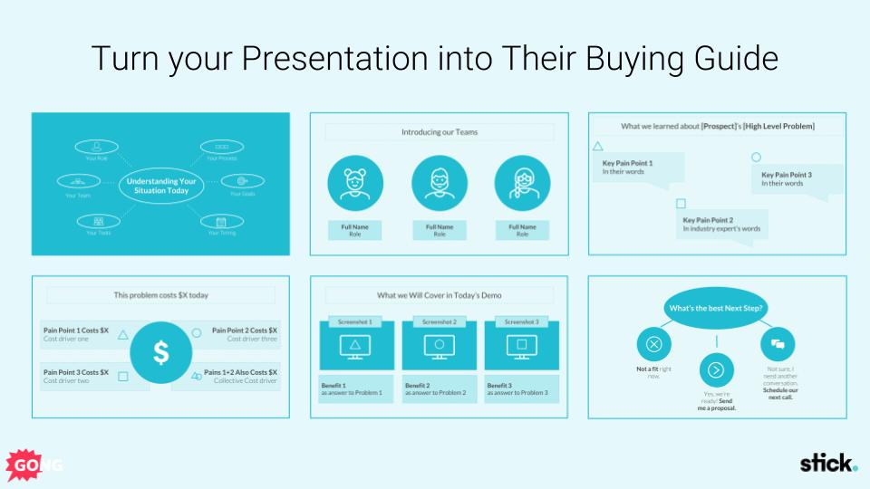 Sales presentation deck