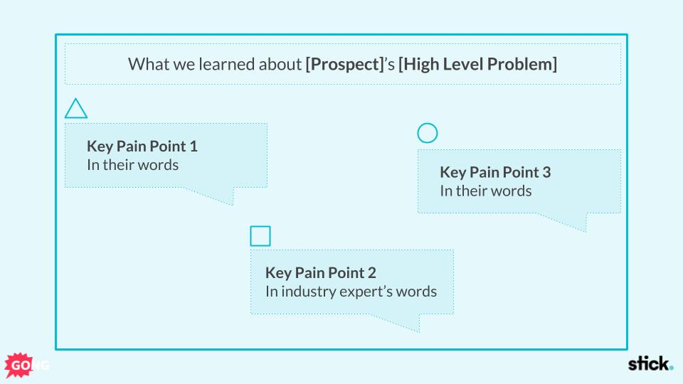 Sales presentation tip