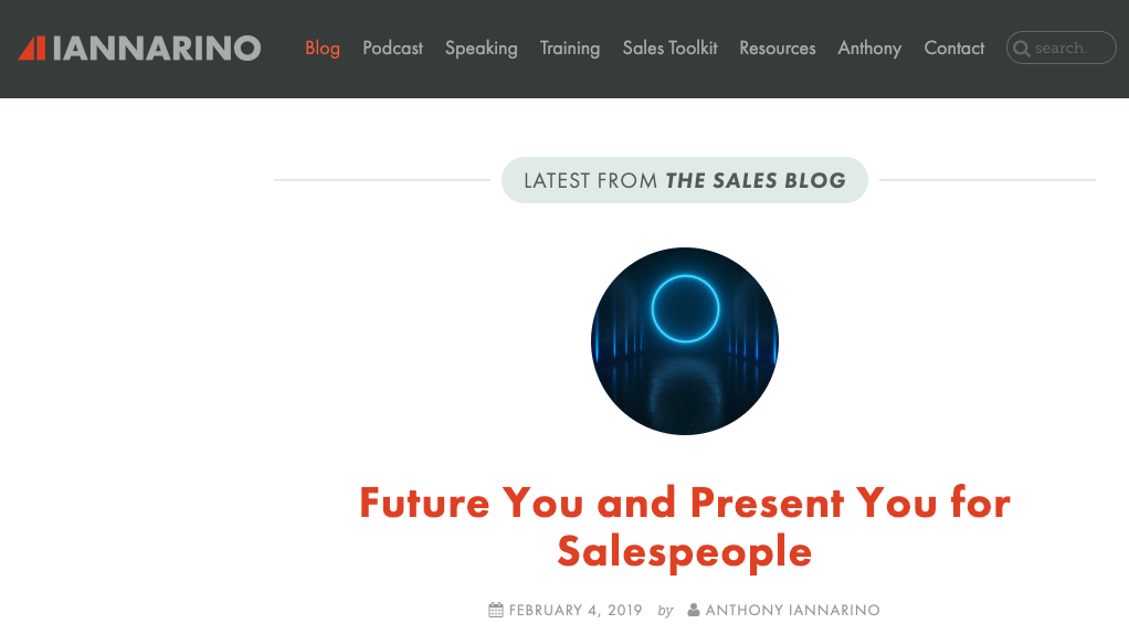 Best sales blog - The Sales Blog