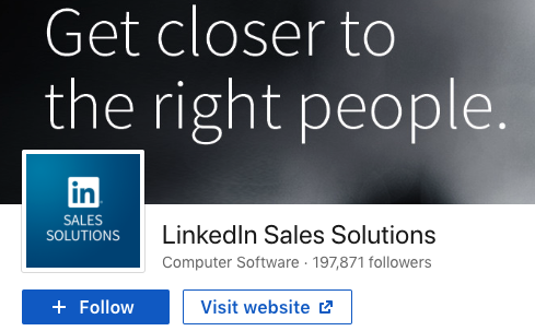 LinkedIn Sales Solutions sales blog