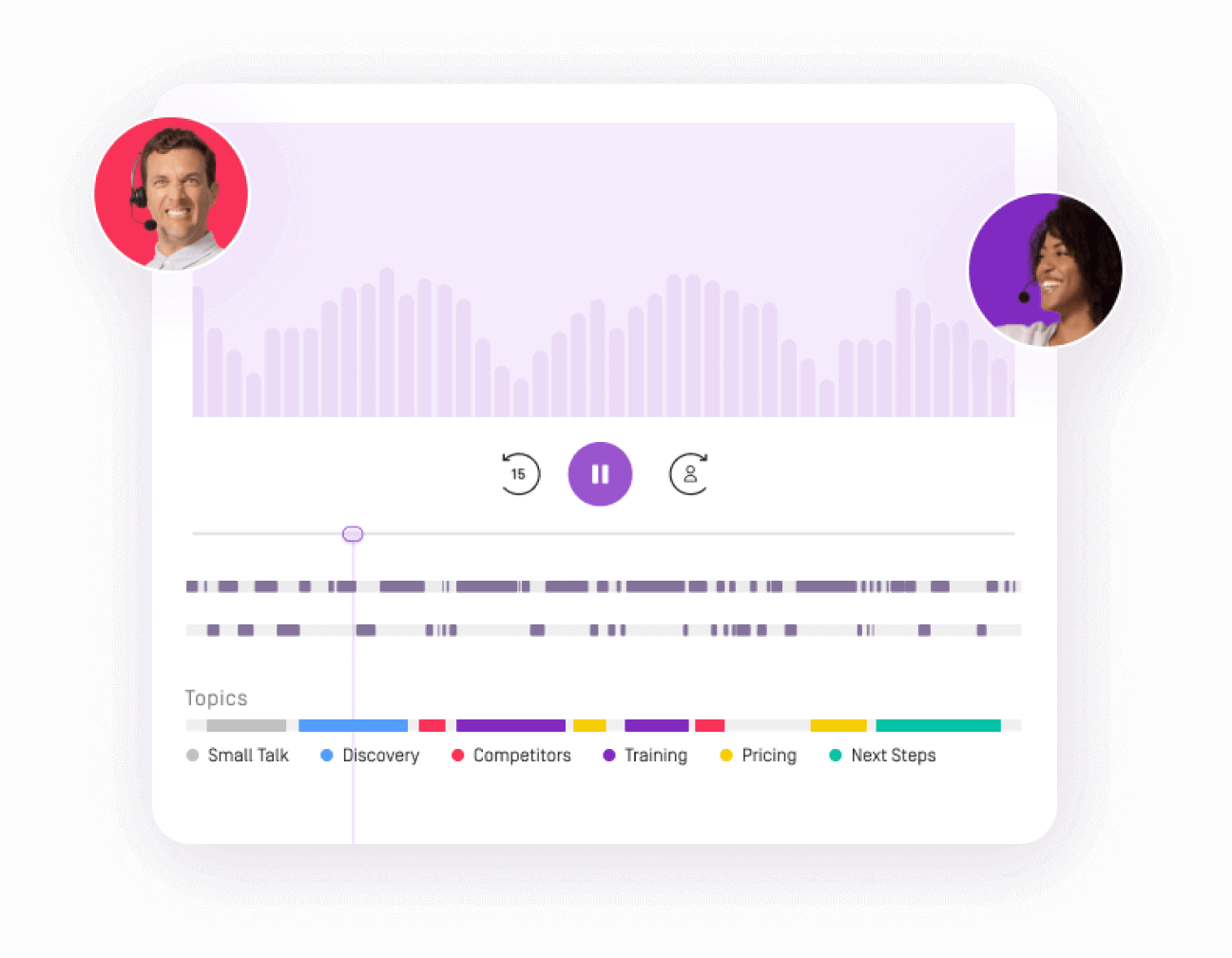 call recording page