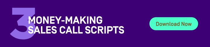 sales call scripts