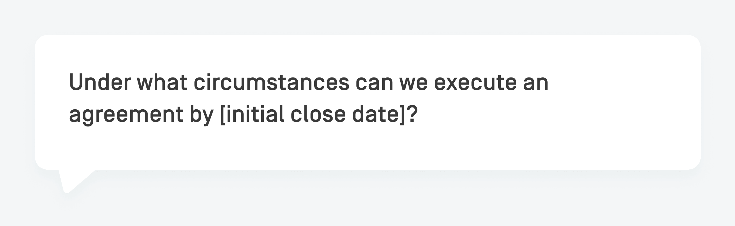 what changed question
